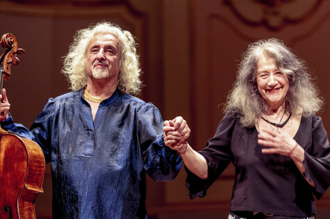 Martha Argerich Klavier Mischa Maisky Violoncello